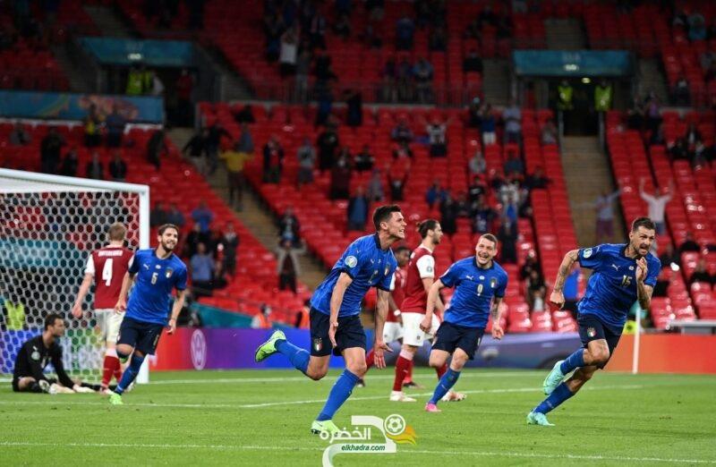 المنتخب الإيطالي يحجز مقعدا في ربع نهائي بطولة أمم أوروبا 2020 2