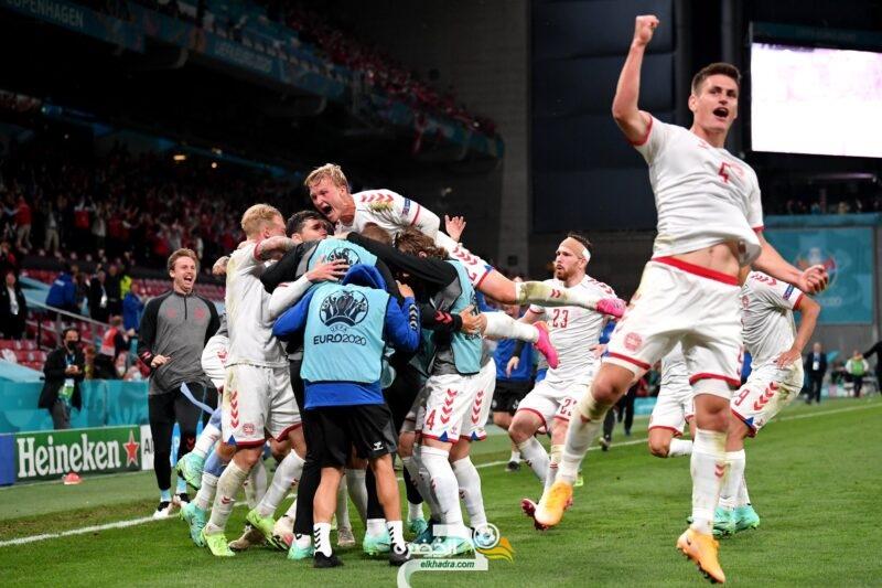 يورو 2020 : الدنمارك تحجز مقعدها في دور الـ16 بعد الفوز 4-1 على روسيا 4