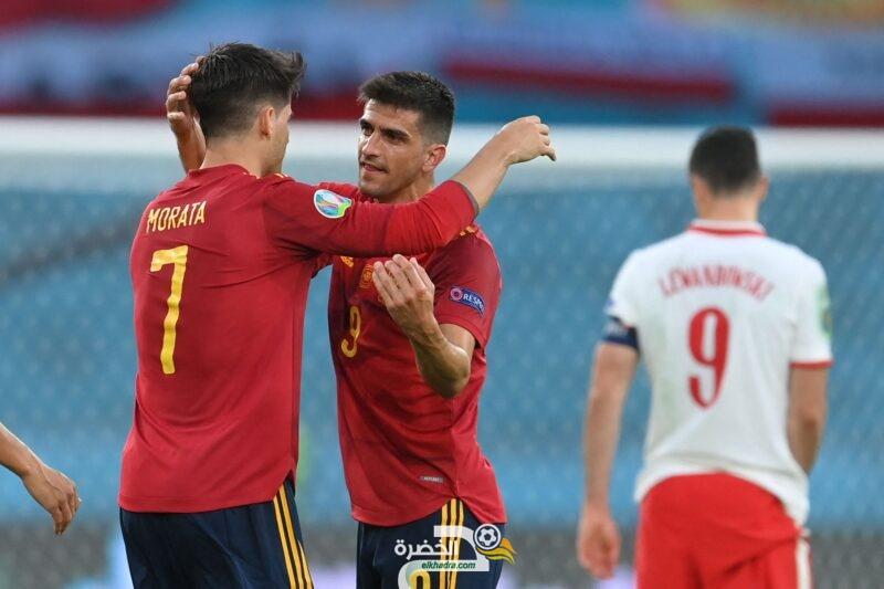 يورو 2020 : المنتخب البولندي يفرض التعادل على إسبانيا 2