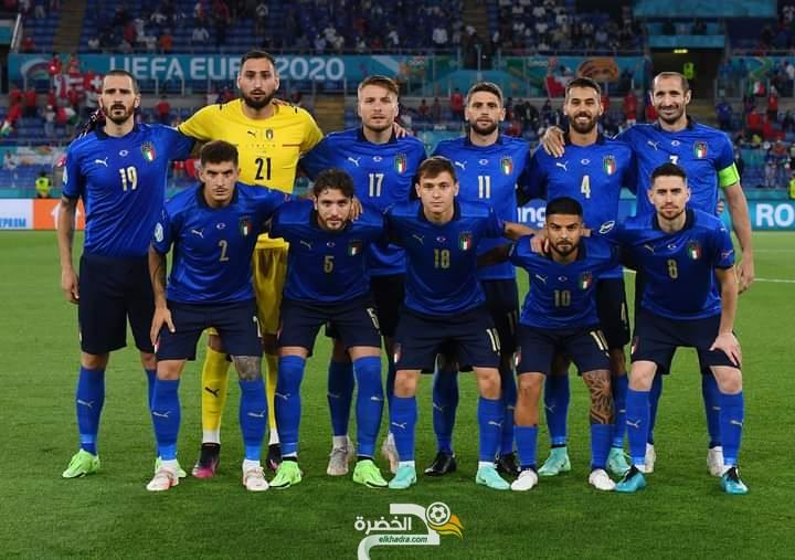 """المنتخب الإيطالي أول المتأهلين إلى ثمن نهائي """"يورو 2020"""" 7"""