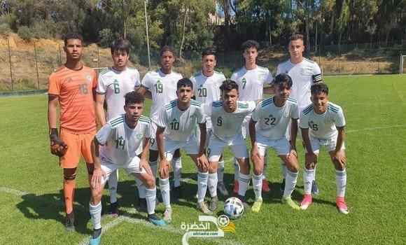 المنتخب الجزائري لأقل من 20 سنة ينهزم أمام رديف شبيبة القبائل وديا 7