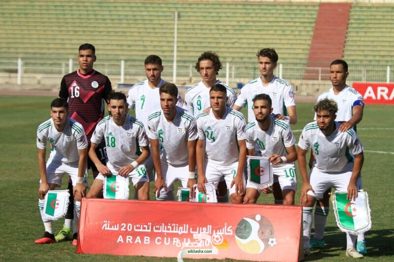 المنتخب الجزائري يشارك في دورة تولون للآمال 2022 5