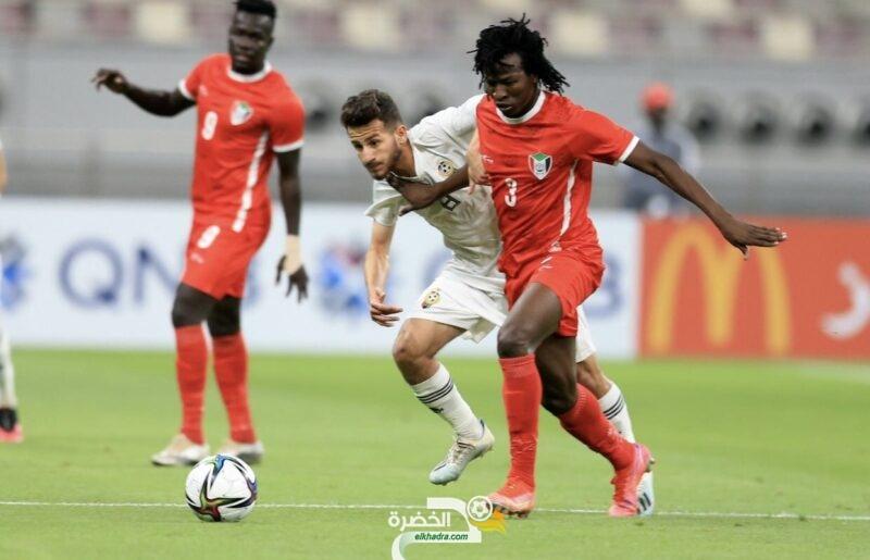 مجموعة الجزائر : المنتخب السوداني يبلغ نهائيات كأس العرب 1
