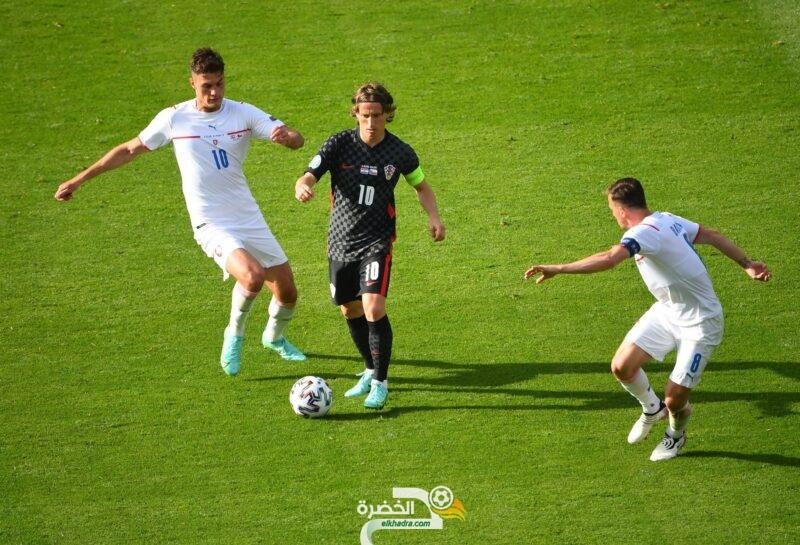 يورو 2020 : المنتخب الكرواتي يتعادل مع تشيكيا 7