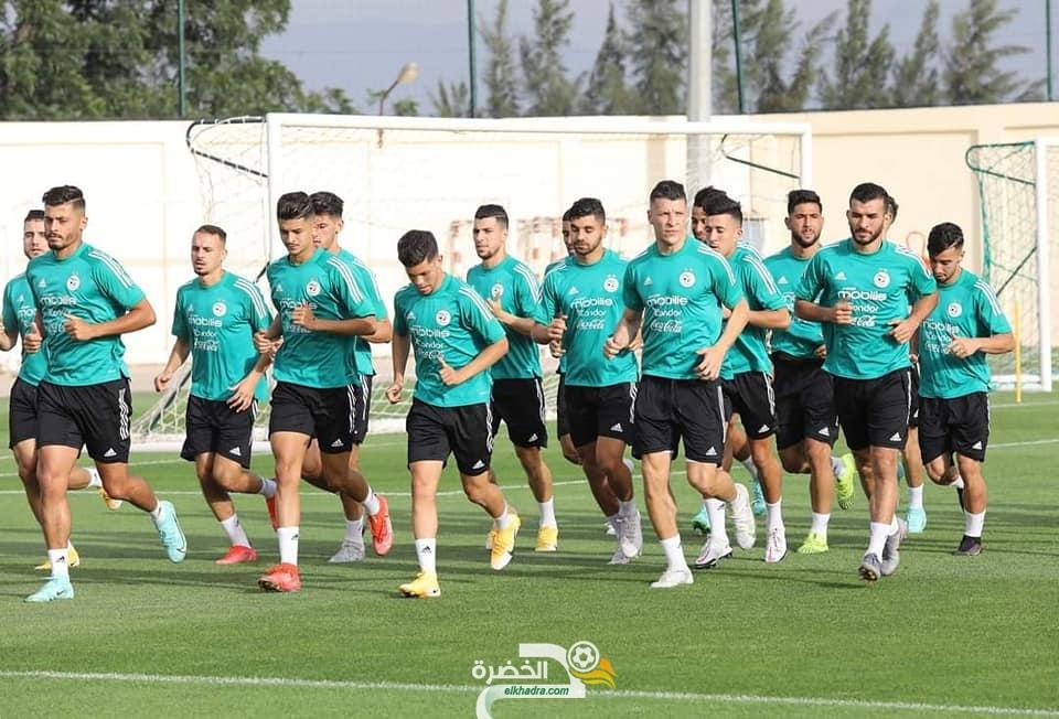تربص المنتخب الوطني للاعبين المحليين ينطلق تحت قيادة مجيد بوقرة 7