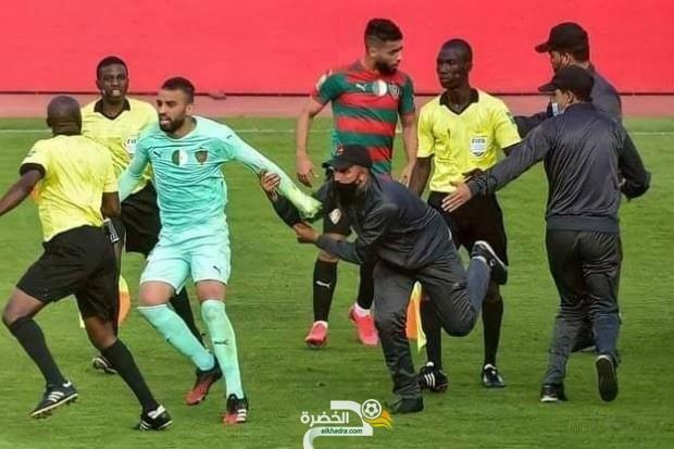 الكاف توقف لاعبي مولودية الجزائر بلخير و بوطاقة لمدة 12 شهرا 9