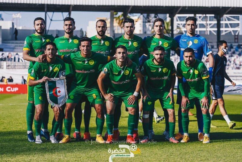 مباراة شبيبة القبائل والقطن الكاميروني بتحكيم التونسي صادق السالمي 4