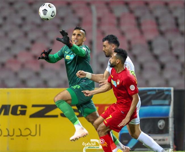 نادي ضمك السعودي يعلن تمديد عقد الحارس الجزائري زعبة لموسمين 5