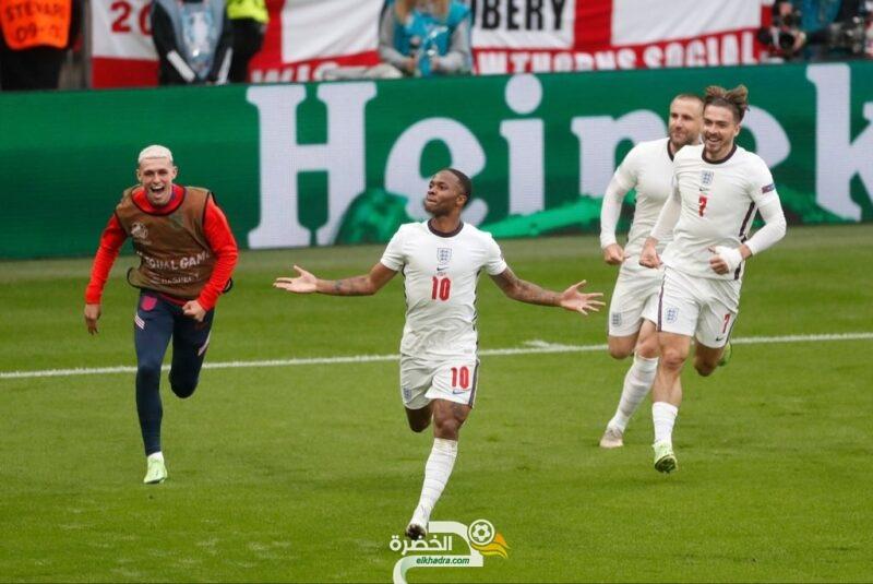 منتخب إنجلترا إلى ربع نهائي يورو 2020 7