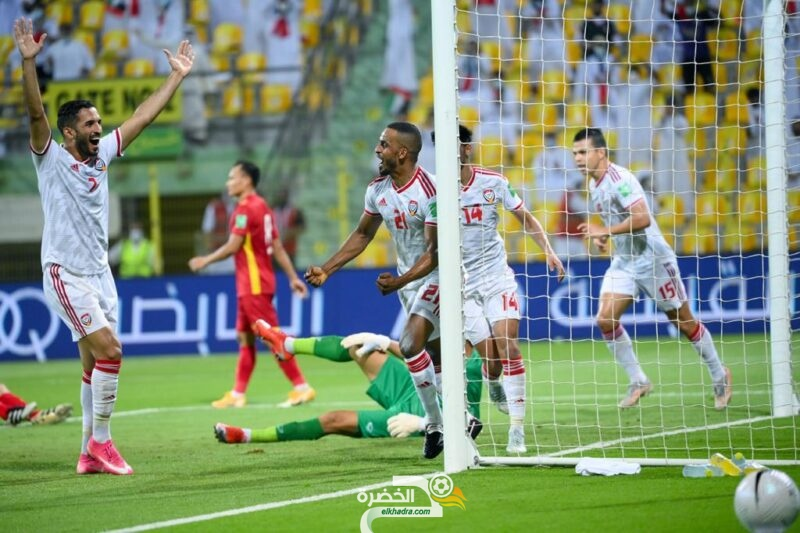 منتخب الإمارات يتأهل إلى الدور الحاسم من تصفيات كأس العالم 6