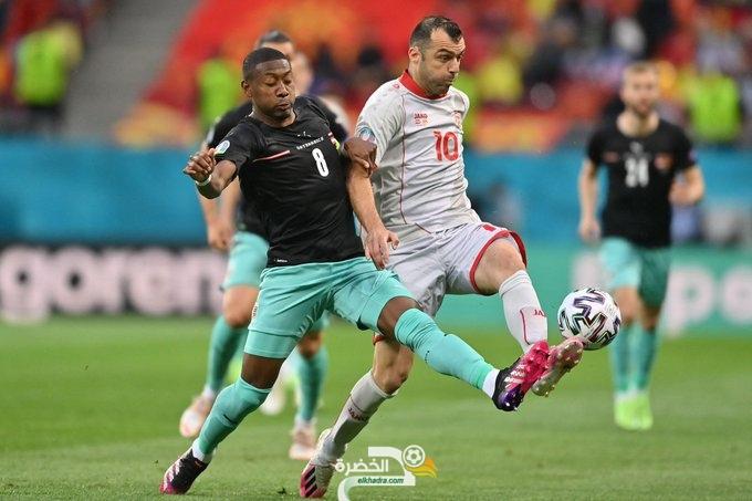 منتخب النمسا يدشن مشاركته في بطولة أمم أوروبا بالفوز على مقدونيا الشمالية 12
