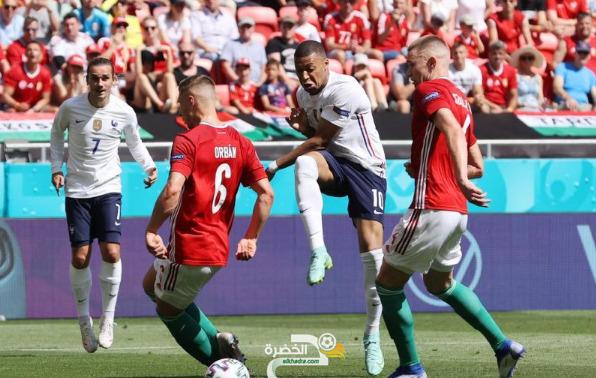 منتخب فرنسا يكتفي بالتعادل 1 - 1 أمام المجر في بطولة أمم أوروبا 5