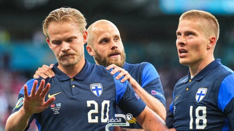 منتخب فنلندا يحصد أول ثلاث نقاط له في أول مشاركة له في كأس الأمم الأوروبية 3