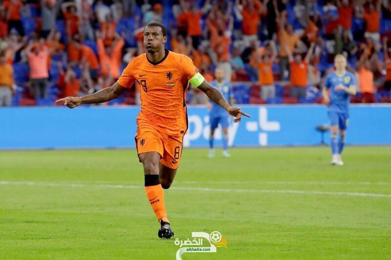 مباراة مثيرة في امم اوروبا تنتهي بفوز هولندا على اوكرانيا 16