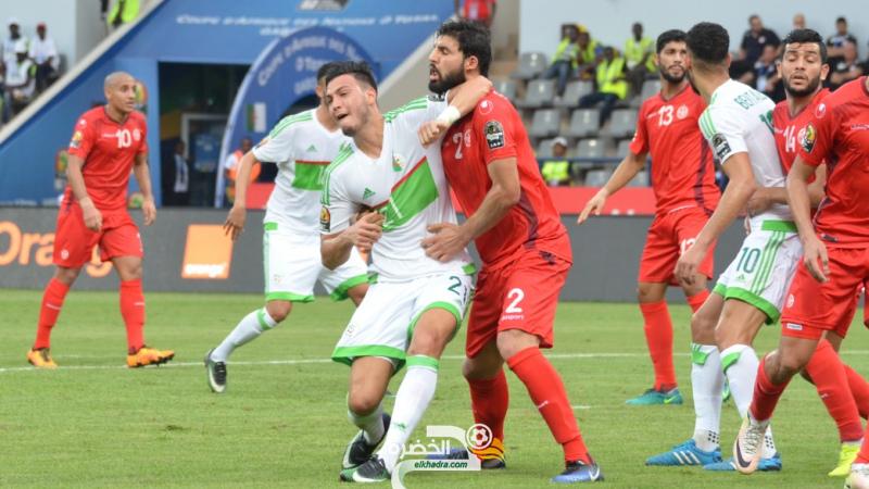 تشكيلة المنتخب الجزائري المتوقعة ضد تونس 1