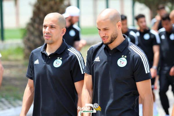 صور جولة لاعبي الخضر قبل المواجهة الودية أمام موريتانيا 6