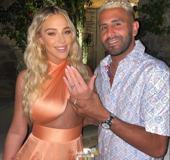بالصور :تايلور تعلن خطوبتها مع النجم الجزائري رياض محرز 2