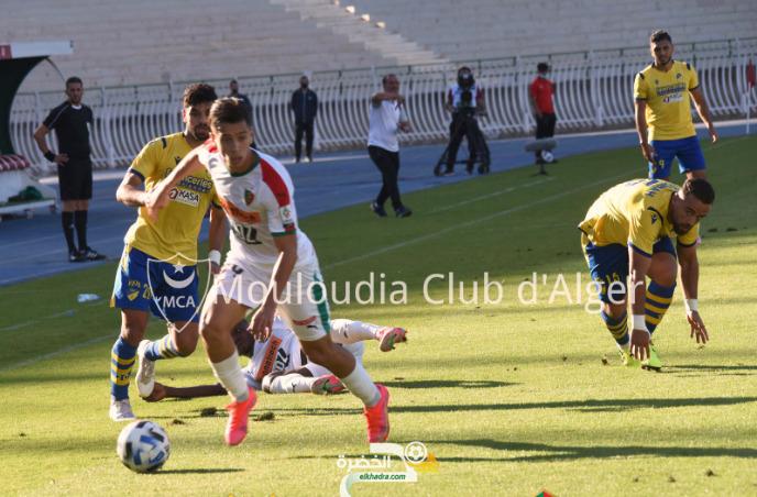 مولودية الجزائر تفوز على بارادو بأربعة أهداف نظيفة 8