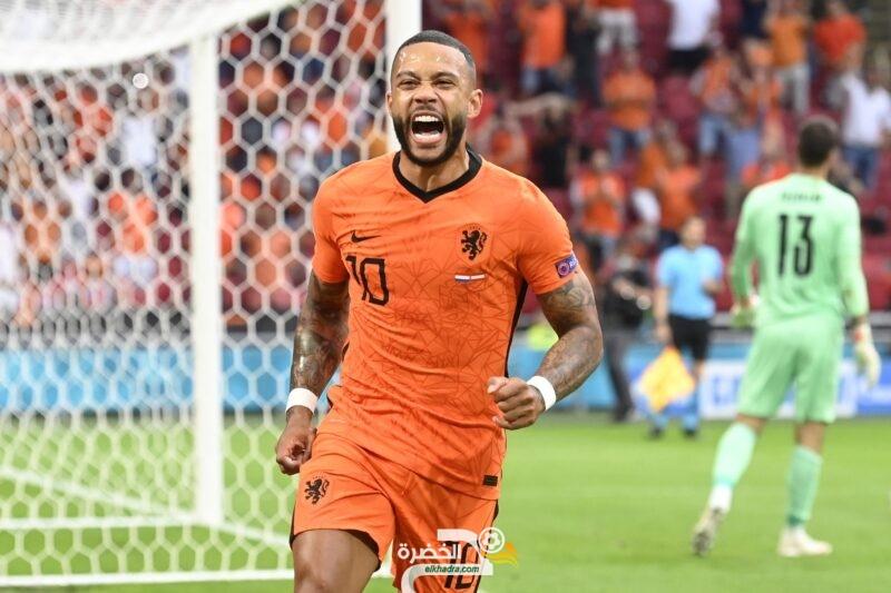 يورو 2020 : هولندا تفوز على النمسا وتبلغ ثمن النهائي 4