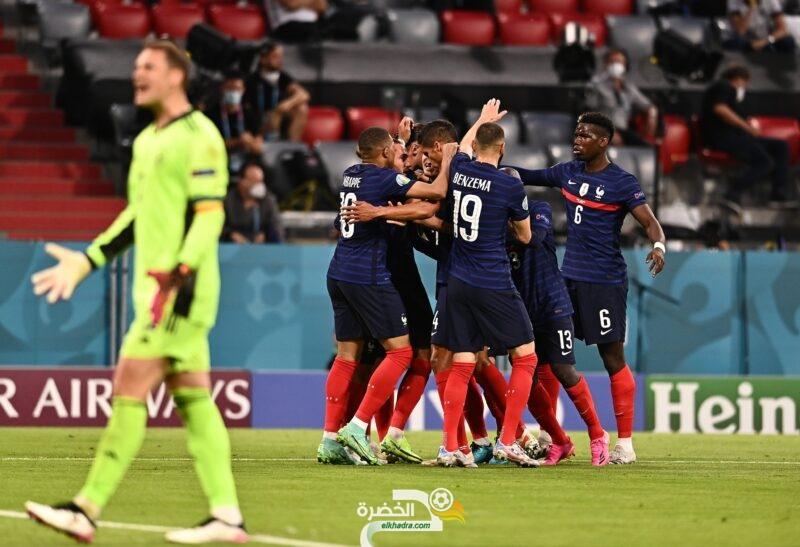 المنتخب الفرنسي يحسم مباراة القمة أمام ألمانيا 5