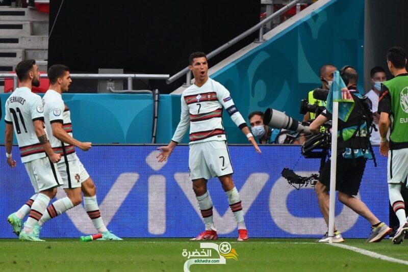 منتخب البرتغال يفوزً على المجر بثلاثية نظيفة 9