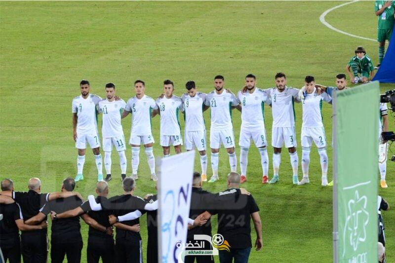 عمورة يقود المنتخب المحلي للفوز ضد ليبيريا بخماسية بملعب وهران الجديد 3