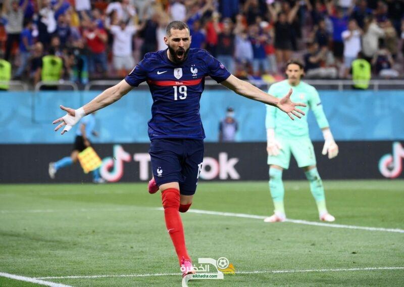 بـ31 هدف .. كريم بنزيما سادس هدافي فرنسا تاريخياً معادلاً زين الدين زيدان 10