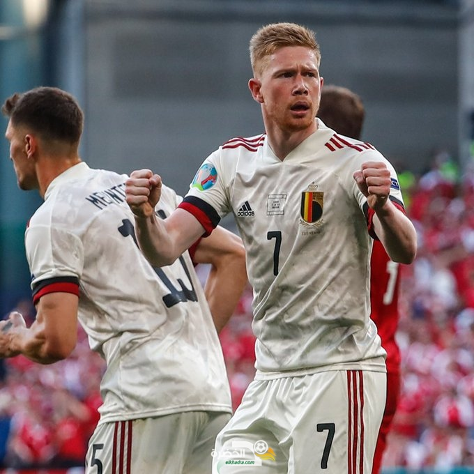 يورو 2020 : بلجيكا تقلب الطاولة على الدنمارك وتبلغ ثمن النهائي 5