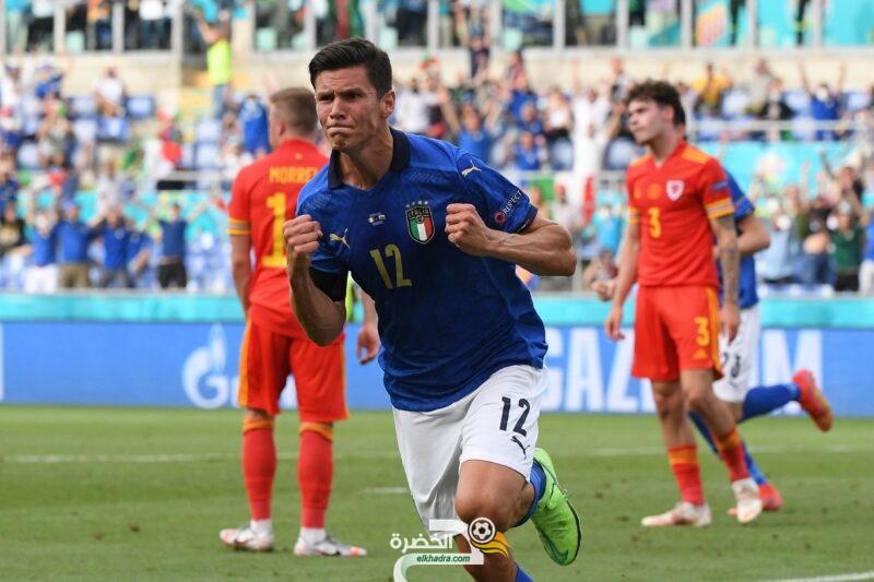 إيطاليا تبلغ ثمن نهائي بطولة أمم أوروبا 2020 متصدرة بفوزها على ويلز 6