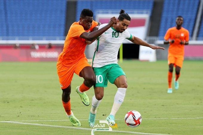 طوكيو 2020 : ساحل العاج تتغلب على السعودية بهدفين مقابل هدف 1