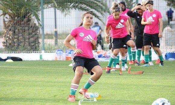 المنتخب النسوي في تربص تحضيري تحسبا للكأس العربية 2021 2