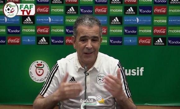 """المنتخب الجزائري لأقل من 20 سنة: """"هدفنا الأسمى تكوين لاعبين للالتحاق بالمنتخب الأول 4"""