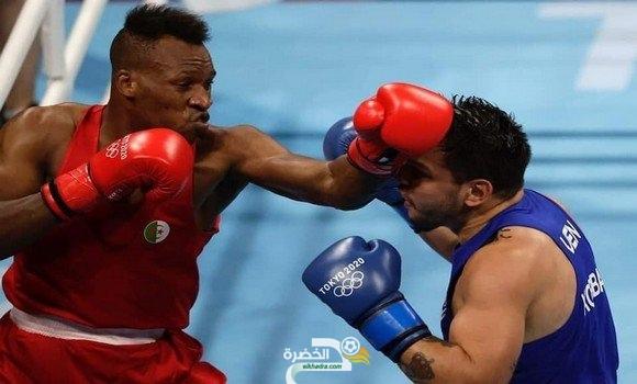 محمد حومري يتأهل إلى ثمن نهائي دورة الملاكمة للألعاب الأولمبية طوكيو 2020 2