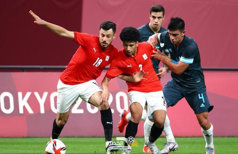 منتخب مصر ينهزم امام الأرجنتين بهدف دون رد 5