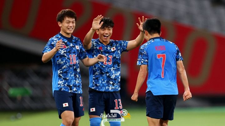 اليابان تفوز على المكسيك بمنافسات كرة القدم للرجال في أولمبياد طوكيو 3