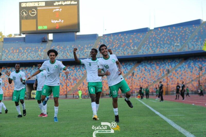 المنتخب السعودي يتخطى مصر ويعبر إلى نهائي كأس العرب للشباب 1