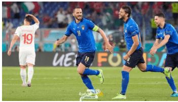 من القاع للقمة... إيطاليا أول المتأهلين 10