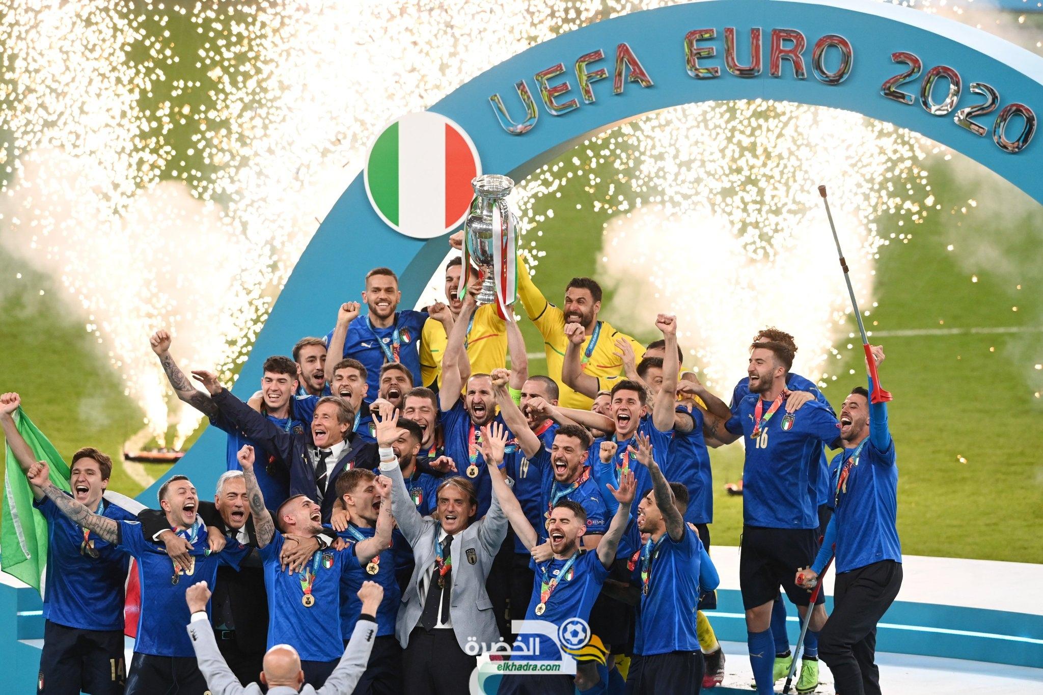 34 مليون يورو ربحتها إيطاليا بعد تتويجها بلقب يورو 2020؟ 39
