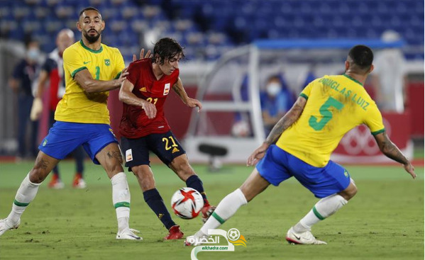 أولمبياد طوكيو : منتخب البرازيل يحرز الميدالية الذهبية بالفوز على أسبانيا 3