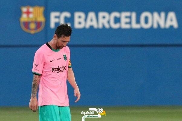 مفاجأة .. ليونيل ميسي يرحل عن برشلونة 2